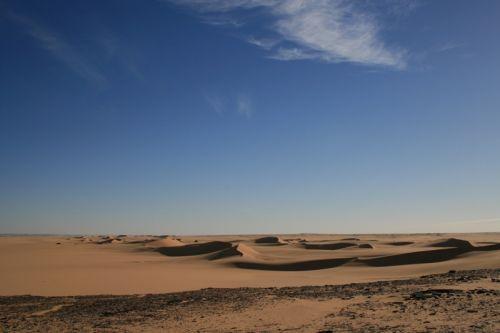 Dune a sud di Cufra